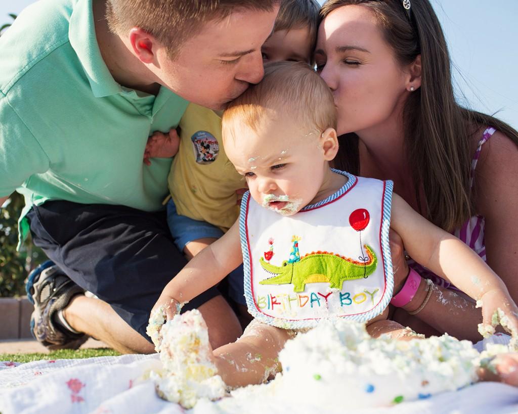 Henry Birthday Castle Hub Cake Smash WDW