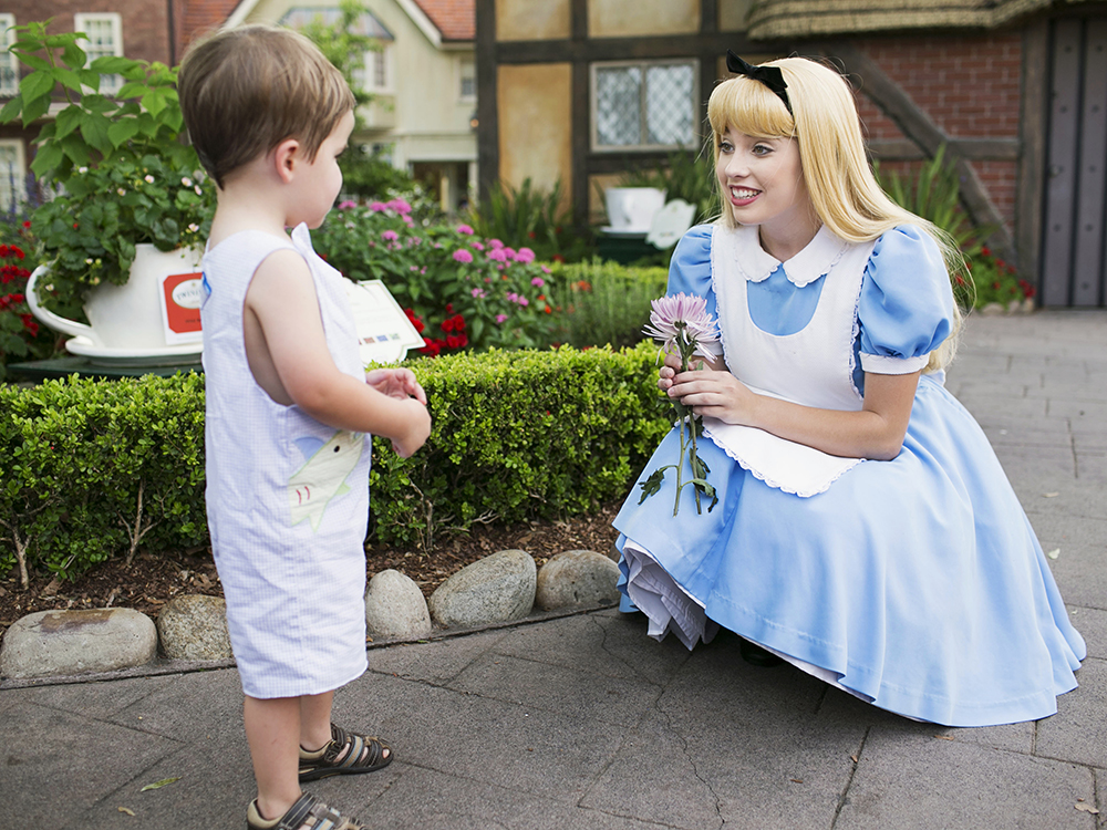 Hall Meets Alice