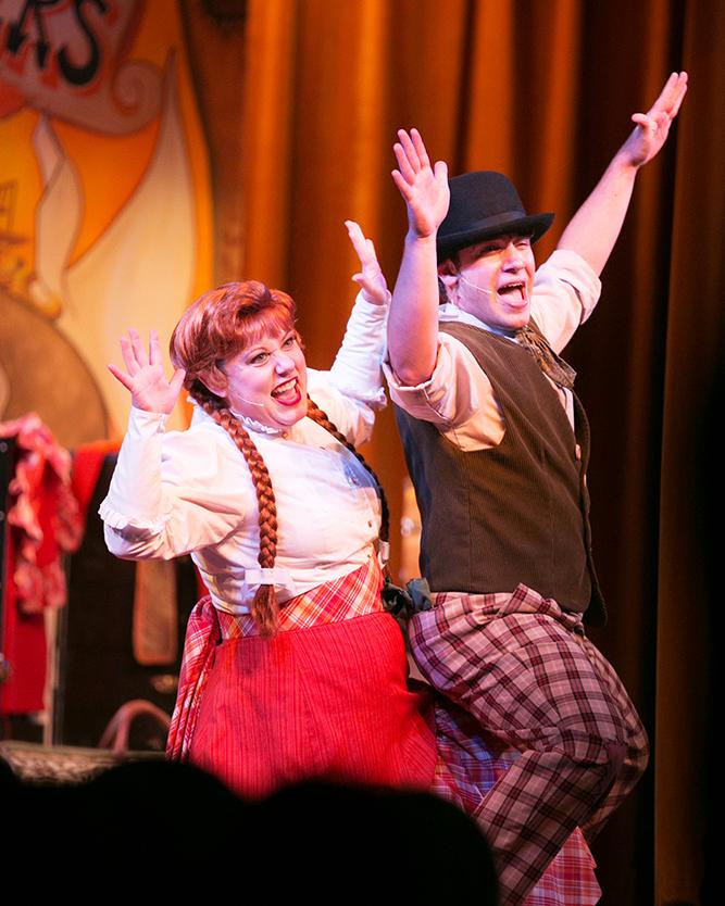 Disney Fort Wilderness Hoop-Dee-Doo Musical Revue 012
