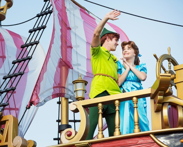 Festival of Fantasy Parade Peter and Wendy